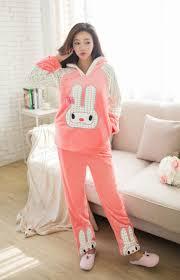 shop free shipping pink pajamas 2pcs set warm and