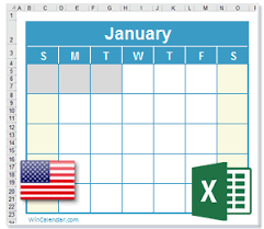 2023 excel calendar with us holidays
