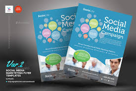 social media marketing flyer by kinzi21 graphicriver