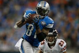 detroit lions wr calvin johnson fastest to 10 000 career receiving