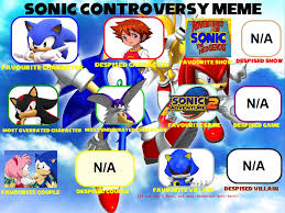 Sonic Boom Meme - sonic controversy meme by sonicandlemmyfan on deviantart