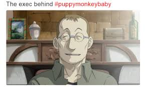 Baby Monkey Meme - as someone who hasn t watched fma but understands what this is it