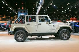 first jeep wrangler 2017 jeep wrangler rubicon recon looks trail ready in chicago