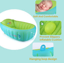 Baby Blow Up Bathtub New Baby Inflatable Bathtub Swimming Float Safety Bath Tub