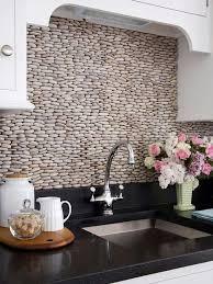 Remodelaholic  Great Kitchen Backsplash Ideas - Creative backsplash