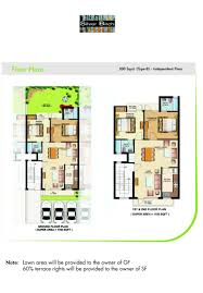 opulent design 15 floor plan for 200 sq yard house plans india