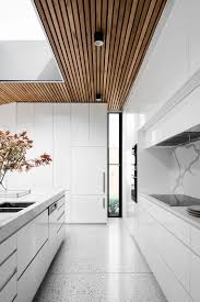modern white kitchen cabinets wood floor 30 airy and welcoming all white kitchen designs digsdigs