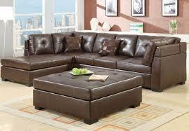 Leather Sofa Cushions Sofa 5 Enjoyable Brown L Shape Leather Sofa Living Room Decor