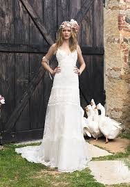 robe de mari e boheme chic accessoire pour robe de mariée ras du cou en dentelle