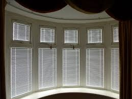 Bay Window Roller Blinds Vertical Blinds For Bay Windows That Curve Cost Best Window And