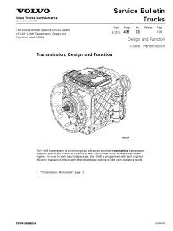 volvo truck parts diagram i shift transmission design and function manual transmission