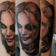 100 harley quinn tattoos harley quinn tattoo done by taylor
