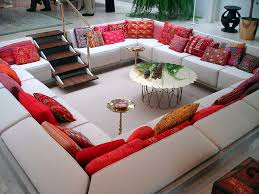 furniture u0026 accessories ideas of sunken seats make living room