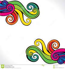 colorful swirl design background stock image image 29044621