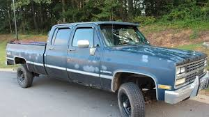 Classic Chevrolet Trucks - 1989 chevrolet silverado and other c k3500 4x4 crew cab for sale