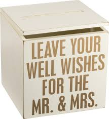wedding well wishes well wishes wedding card box by pbk prep obsessed