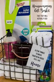 the adventure starts here housewarming gift basket
