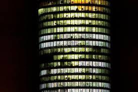 tour de bureau bloc de tour de bureau la nuit image stock image du fonctionnement