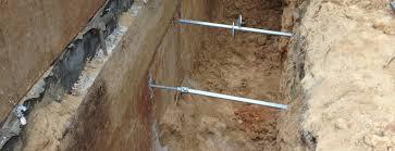 Block Basement Wall Repair by Basement Wall Repair Bowing Basement Walls