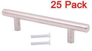 Stainless Steel Kitchen Cabinet Handles by 25pcs Solid Stainless Steel Kitchen Door Cabinet T Bar Handle Pull