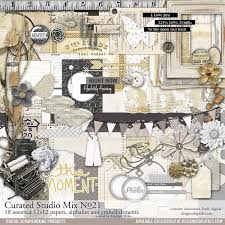 wedding scrapbook supplies curated studio mix scrapbooking kit no 21 pertiet kits