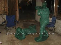 Green Army Man Halloween Costume Coolest Realistic Green Plastic Army Men Costumes Army Men
