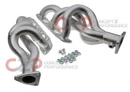 nissan 370z long tube headers exhaust system exhaust manifolds u0026 headers