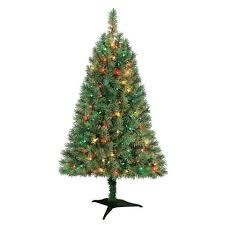 white christmas tree with colored lights white christmas nyc 6 5 tree rental package with clear lights