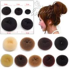 donut bun hair new style hair chignon donut bun maker ring rolls s m l xl