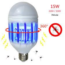 bug light light bulbs e27 15w 220v 110v led zapper bulb mosquito insects killer l pest