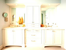 makeup cabinet with mirror narrow bathroom tower cabinets