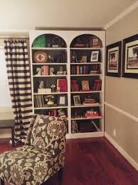 jennifer nack designs billy bookcase hack arched bookshelves