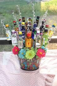 liquor baskets great best 25 booze bouquet ideas on liquor bouquet