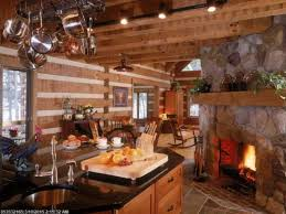 kitchen rustic kitchen brown exposed beam one wall kitchen