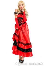 Gypsy Halloween Costumes Spanish Gypsy Flamenco Dance Costume Halloween Queen Dress
