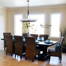 british western indies decor use of rattan and leather one of room