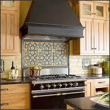 Kitchen Tile BACKSPLASH Design IDEAS - Medallion tile backsplash