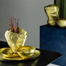 tom dixon bash vessel mini brass houseology