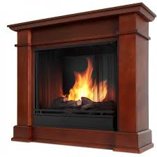 real flame devin petite 36 inch gel fireplace with mantel dark
