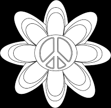coloring pages of peace signs free printable peace sign coloring