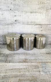 stainless steel canisters kitchen canister set 3 stainless steel canisters kitchen metal canister