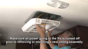 how to install a deluxe free delivery ac ceiling assembly