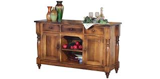 solid wood amish hutches buffets and sideboards cabinfield fine