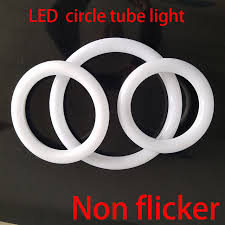 circular fluorescent light led replacement circular tube led circle ring l 8 inch circular t9 led light