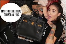 my designer handbag collection 2016 lexi a n youtube