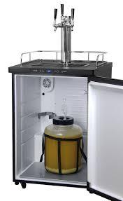 Beermeister Amazon Com Kegco K309b 3 Triple Faucet Digital Homebrew Kegerator