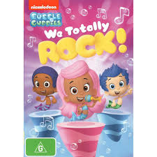 bubble guppies we totally rock dvd big w