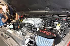 hellcat engine swap sema 2015 south hall feature trucks suvs photo u0026 image gallery