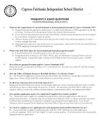 Working With Children Resume Paraprofessional Resume 8 Paraprofessional Resume Samples