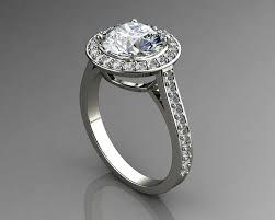 daimond ring engagement rings solitaire diamond rings 3d model 3d printable stl 3dm